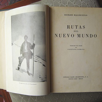 """New Worlds to Conquer"" by Richard Halliburton - spanish edition 1942 - Books"