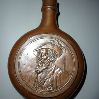 Flask - Copper on Glass?