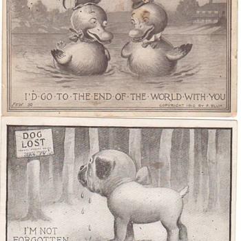 My favorite Postcards