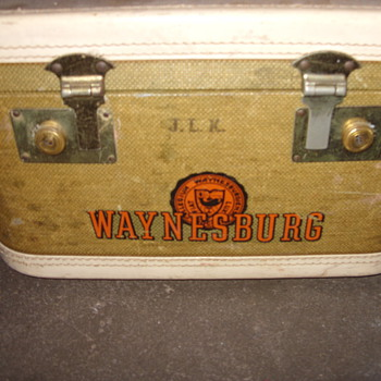 1950s penn waynesburg college case - Accessories