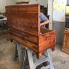 Grandfathers cedar chest restoration more photos