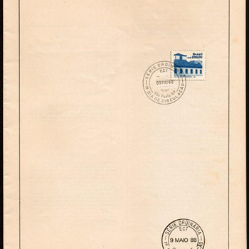 "1988 - ""Architecture"" First Day Issue Stamp - Stamps"