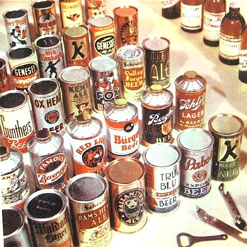 Ancient beer cans - Breweriana