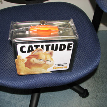 Garfield the Movie Metal Lunch box - Movies