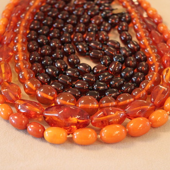 50 shades of amber (well maybe 4) - Fine Jewelry