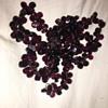 Purple pink stone necklace