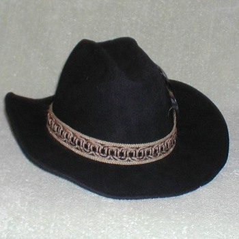 "Mens Black ""Maverick"" Hat"