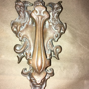 Cerberus and Hades Door Knocker