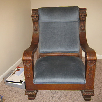 Any Information Appreciated on this Rocking Chair - Furniture