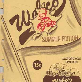 1955-1966 Motorcycle Parts & Accys. Catalogs