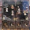 Antique Japanese Oriental Coromandel Screen