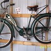 Girl 1950  swinn  bicycle. 