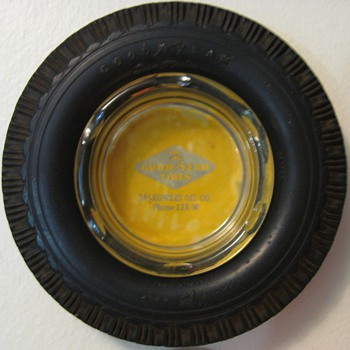 GOODYEAR TIRE ASHTRAY - Advertising