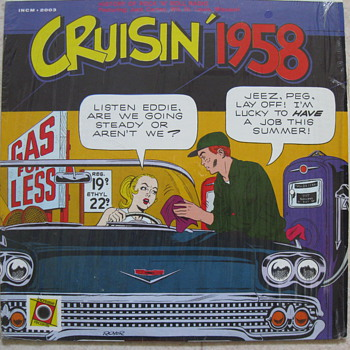 CRUISIN 1958 ALBUM - Records