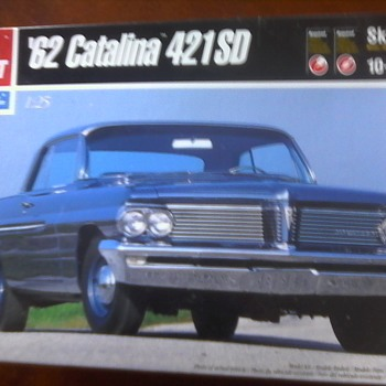 """ 62 Catalina 421SD"" Model - Model Cars"