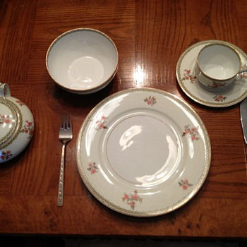 Athens China Set - Auction Find