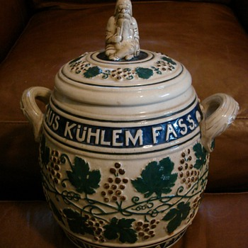 Please help me figure out where this German pot came from - Art Pottery