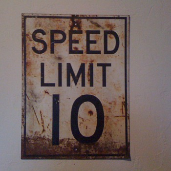Speed Limit sign - Signs