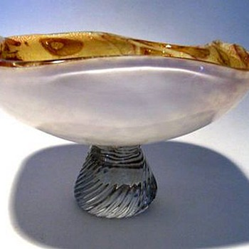 Murano Small *Footed* Bowl