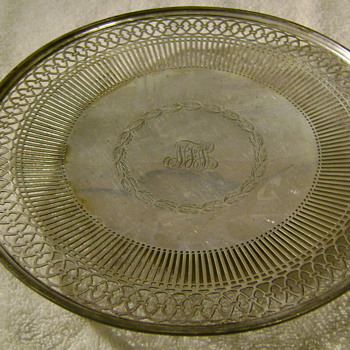 Tiffany serving plate from my grandmother - Sterling Silver