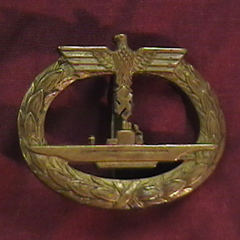 WW II German U Boat Badges