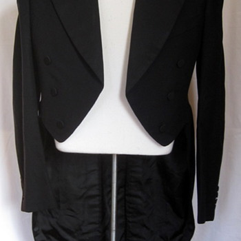 Vintage 1930s Evening Tails Suit - Mens Clothing