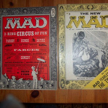 Old Mad Magazines - Paper