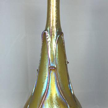 """Loetz Candia """"Phänomen Genre 1/844"""". 11.5"""" Tall. Circa 1901 - Art Glass"""