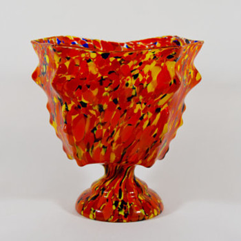 Kralik knuckle vase - Art Glass