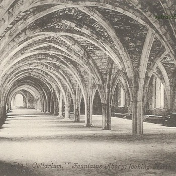 THE CELLARIUM FOUNTAINS ABBEY.