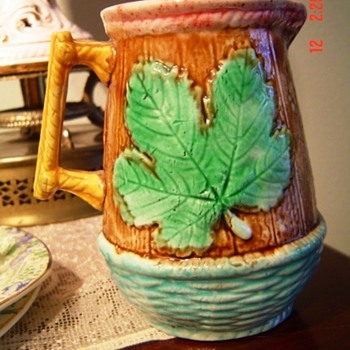 Majolica Small Pitcher Help Identify?