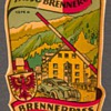 "Travel Decal - ""Brenner Pass"" (Austria-Italy)"