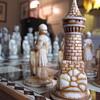 1960's avon chessboard set