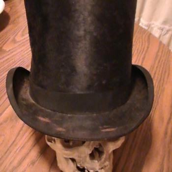 1800's Top hat from Paris.