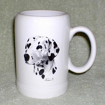 """Dalmatian"" Ceramic Mug - Kitchen"