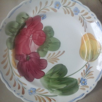 colourful plate  - China and Dinnerware