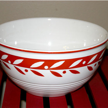 My favorite vintage bowl