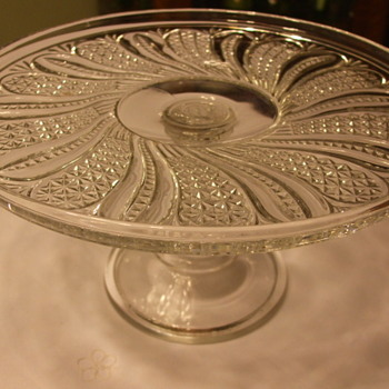 Many Glass Companies made a Similar Pattern. This one is by McKee Glass Co. - Glassware