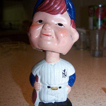 Yankees Bobble Head - Baseball