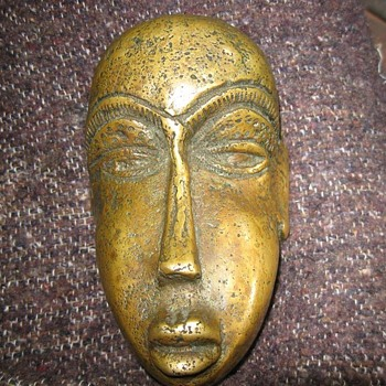 Bronze Face. - Art Deco