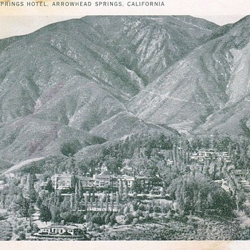Arrowhead Springs Hotel Postcard