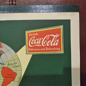 Coca Cola 1932-35 Writing Tablet - Coca-Cola