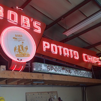 Bobs Potato Chips  - Signs