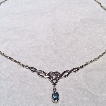Vintage silver necklace  - Sterling Silver
