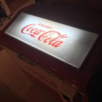 Update: Cornelius SVM-48E3 Coca Cola Slider Cooler (1969)