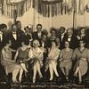 Hotel Monopol in Andermatt in Switzerland. New Year's Eve - December 31, 1926 The Feast of St Sylvester.