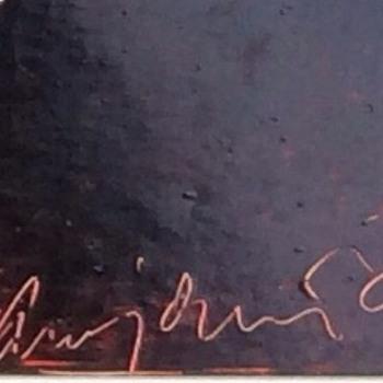 Swedish signature on oil painting - Visual Art