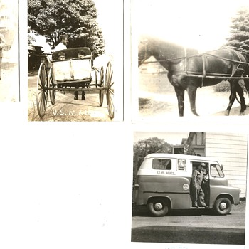 MY GRANDFATHER MAIL CARRIER - Photographs