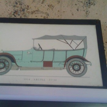 vintage car pictures - Visual Art