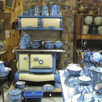 Graniteware Display